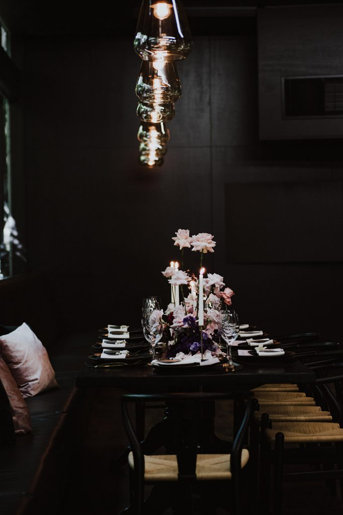 dark and moody wedding