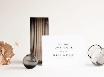 same sex save the date