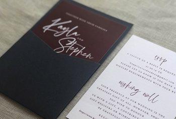 mini pocket invitation