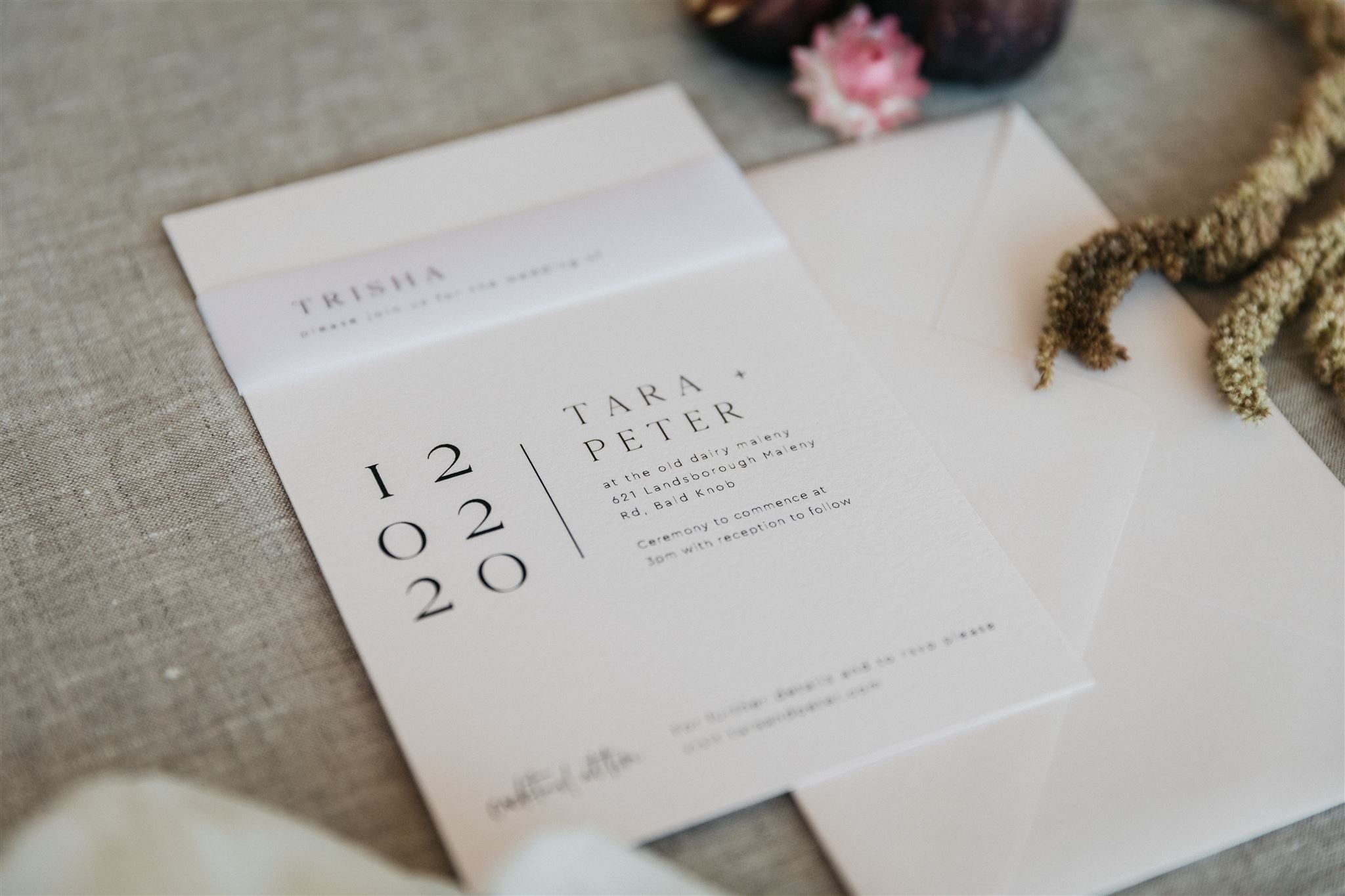 wedding invitation information