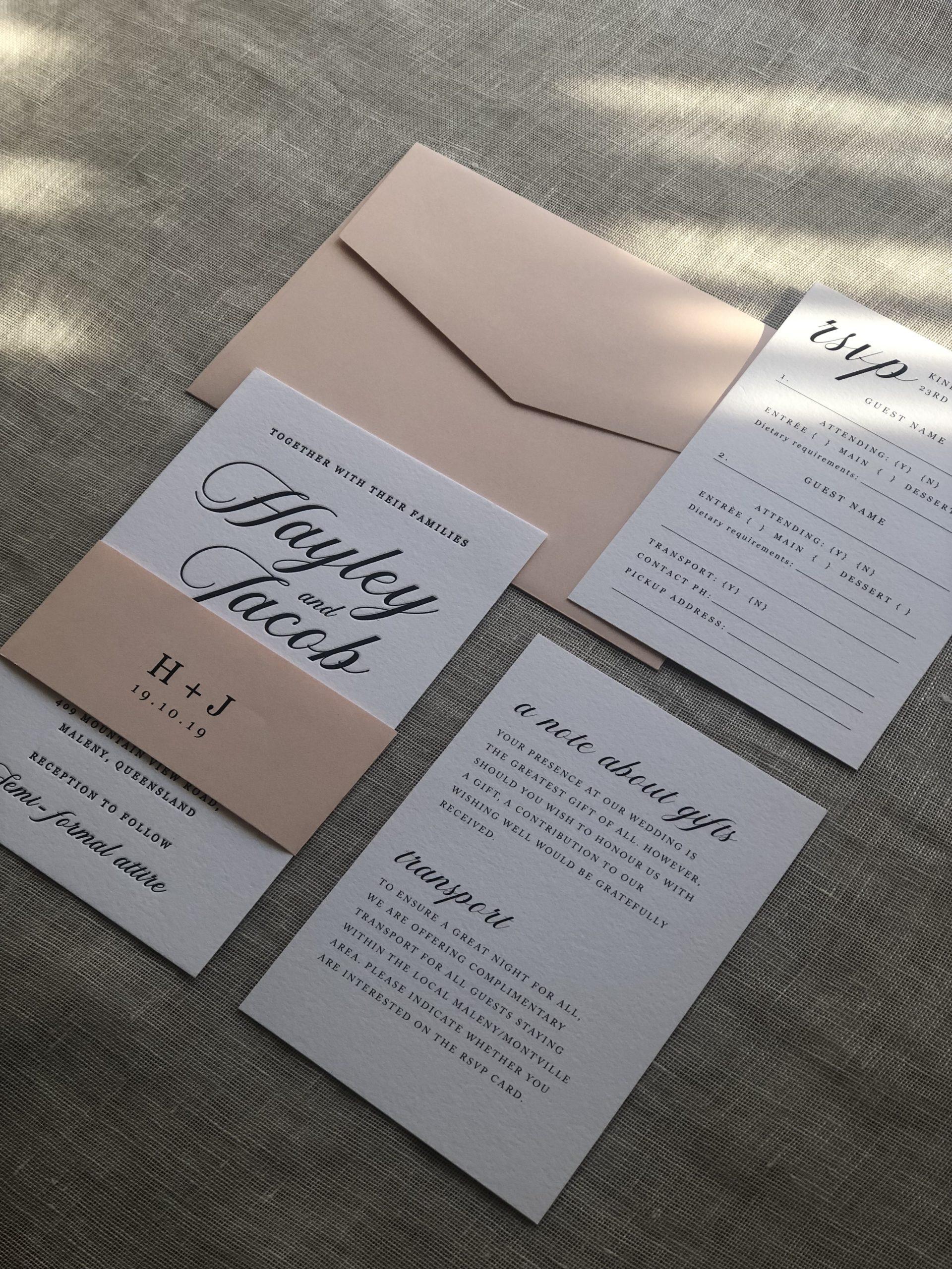 invitations information