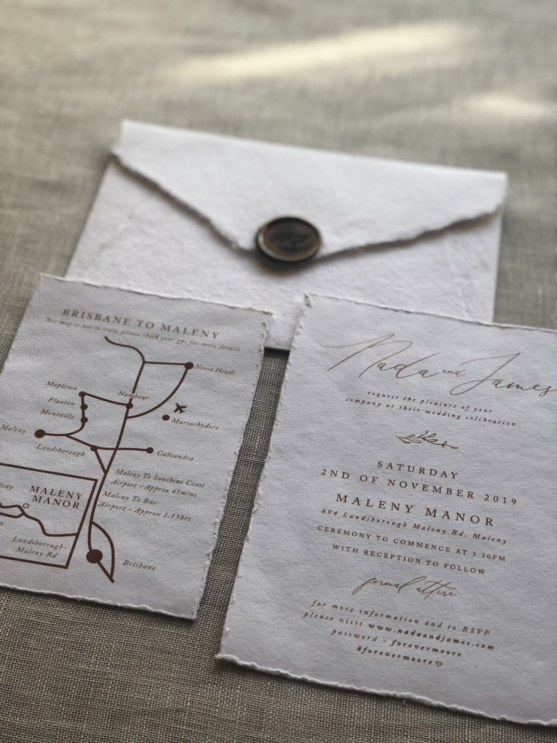 handmade paper maps