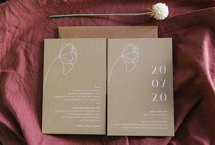 buttermilk texture invitations