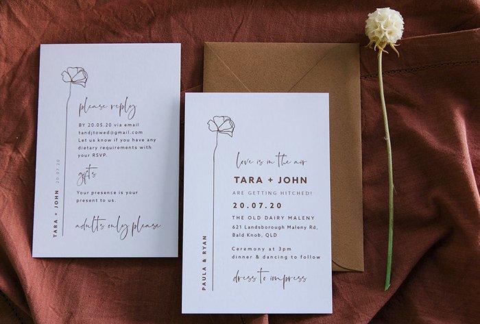 rust invitations