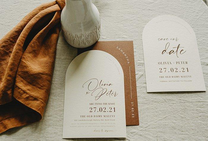 arch invitation