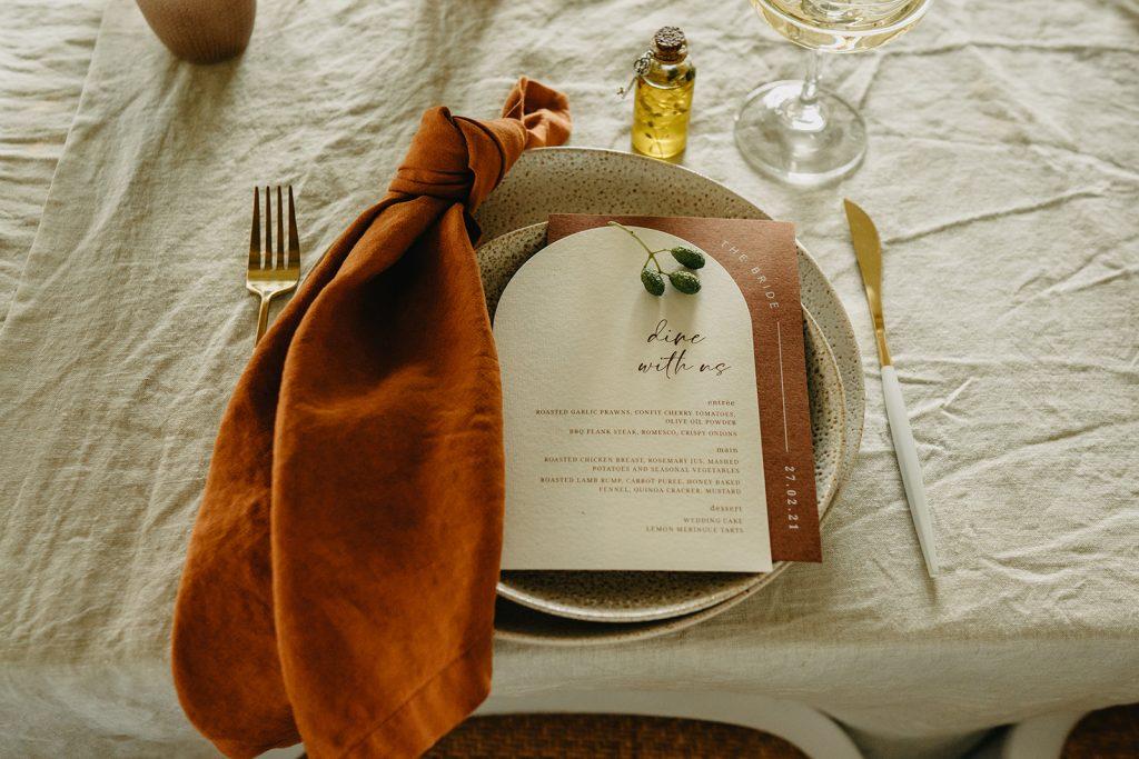 menu arch