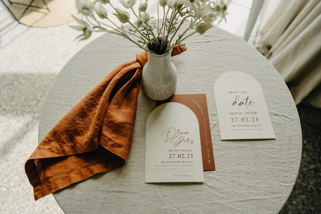 wedding invitation arch