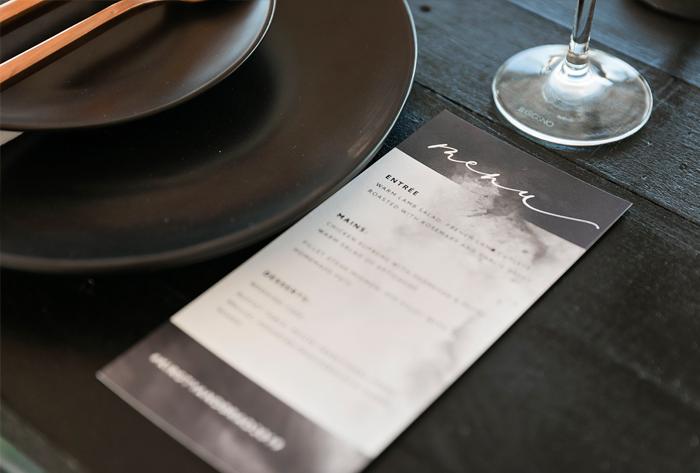 charcoal menu