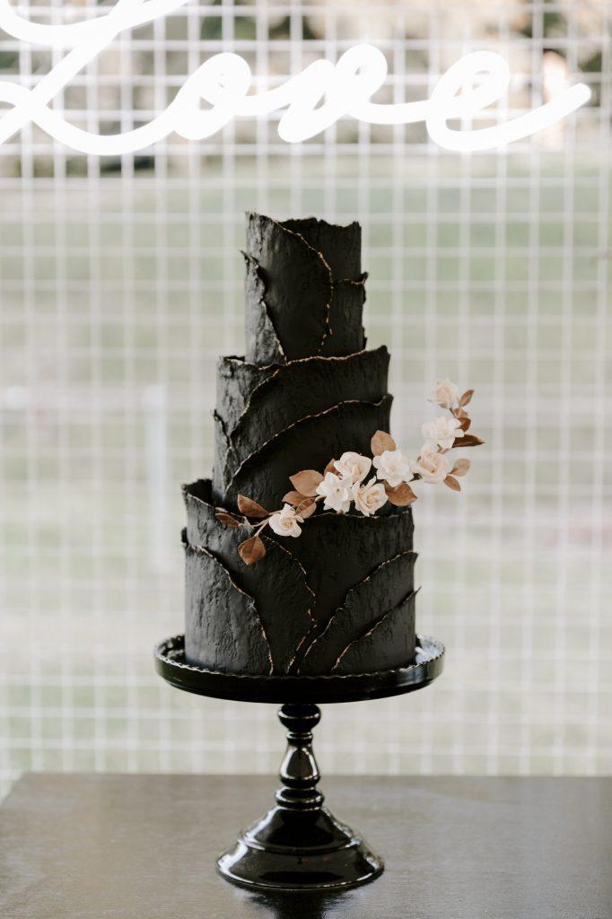 dark and moody cake
