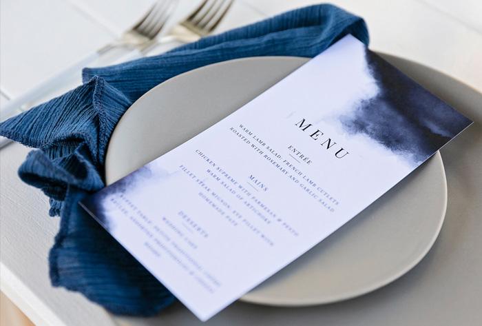 navy menu